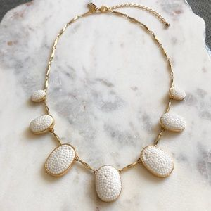 Kate Spade Pave The Way Necklace White